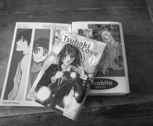Manga lees je....van achter naar voor en van rechts naar links :-)